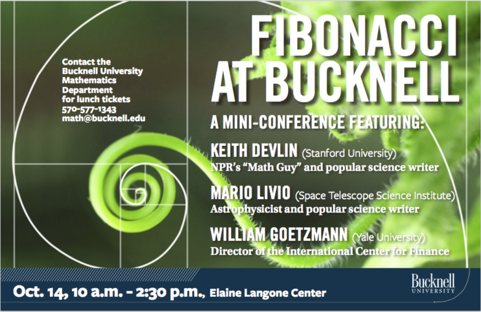 Fibonacci at Bucknell!